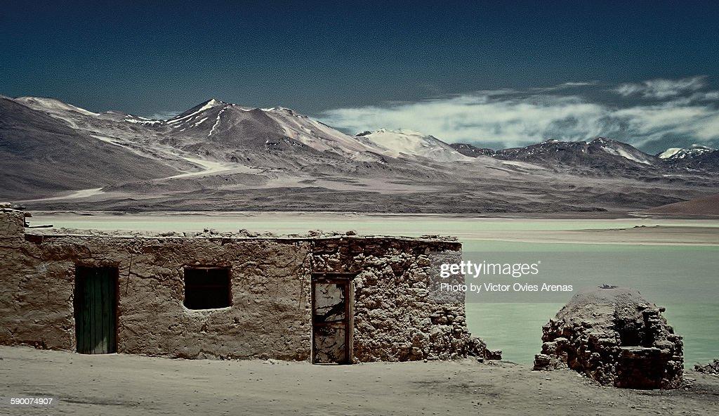 Laguna Verde - Bolivia : Foto de stock