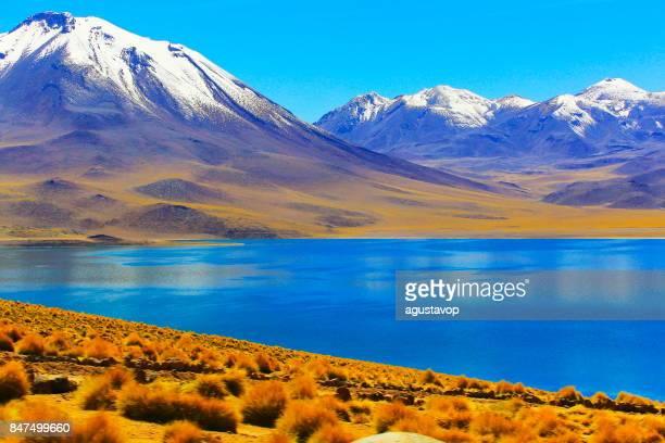 Snowcapped Imágenes De Stock Snowcapped Fotos De Stock: San Pedro De Atacama Fotografías E Imágenes De Stock