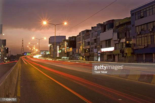 Lahore at night