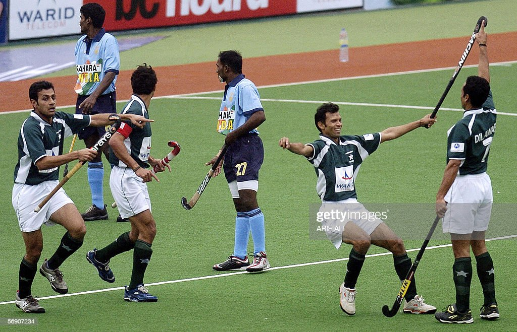 Pakistani Field Hockey Players Celebrate Pictures Getty Images