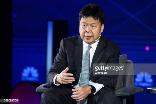 Lai, CEO of BNP Paribas China, speaks during Day 1 of CNBC East Tech West at LN Garden Hotel Nansha Guangzhou on November 17, 2020 in Nansha,...
