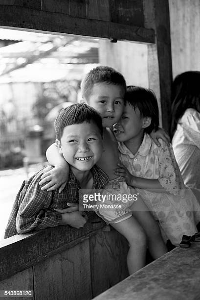 Lai Châu Socialist Republic of Vietnam May 3 1997 Childs are playong