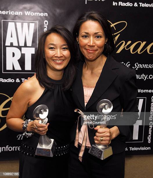 Lai Ling Jew winner Outstanding Producer News and Ann Curry winner Outstanding Anchor