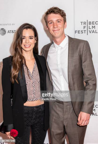 Laia Costa and Thomas Mann attend the screening of 'Maine' during the 2018 Tribeca Film Festival at Cinepolis Chelsea Manhattan