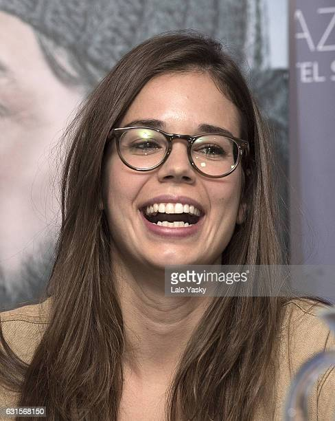 Laia Costa attends a press conference for 'Nieve Negra' at the Dazzler San Martin Hotel on January 12, 2017 in Buenos Aires, Argentina.