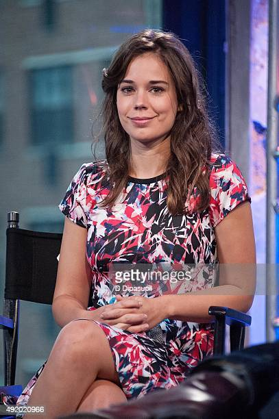 """Laia Costa attends AOL Build Presents: """"Victoria"""" at AOL Studios In New York on October 9, 2015 in New York City."""