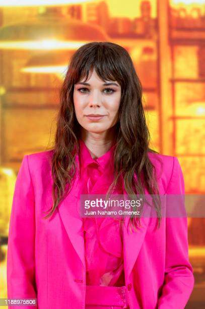 Laia Costa attends 'Foodie Love' premiere at Callao Cinema on November 20, 2019 in Madrid, Spain.