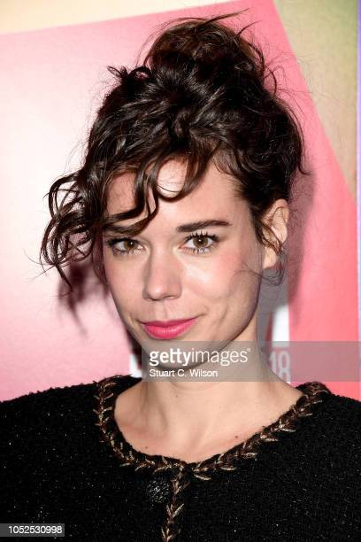 """Laia Costa attends the European Premiere of """"Only You"""" during the 62nd BFI London Film Festival on October 19, 2018 in London, England."""