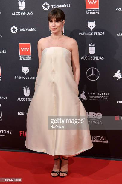 Laia Costa attends the 'FEROZ' awards 2020 Red Carpet photocall at Teatro Auditorio Ciudad de Alcobendas in Madrid Spain on Jan 16 2020