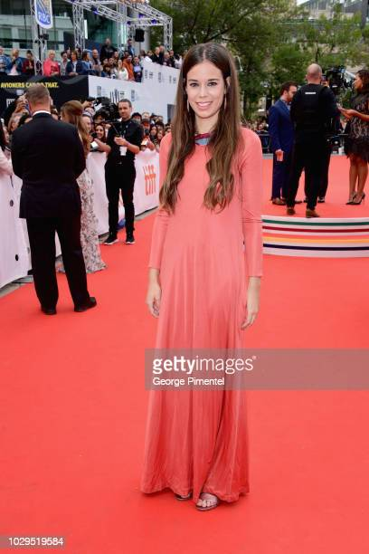 """Laia Costa attends the """"Life Itself"""" premiere during 2018 Toronto International Film Festival at Roy Thomson Hall on September 8, 2018 in Toronto,..."""