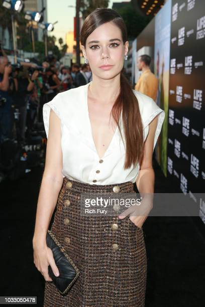 """Laia Costa attends the premiere of Amazon Studios' """"Life Itself"""" at ArcLight Cinerama Dome on September 13, 2018 in Hollywood, California."""