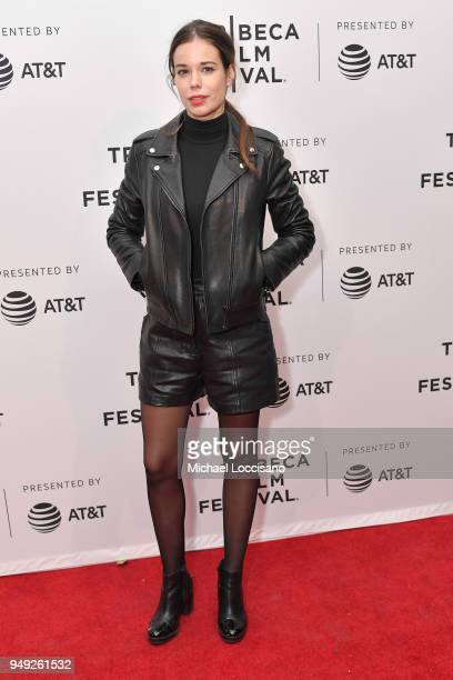 """Laia Costa attends the screening of """"Duck Butter"""" during the Tribeca Film Festival at SVA Theatre on April 20, 2018 in New York City."""