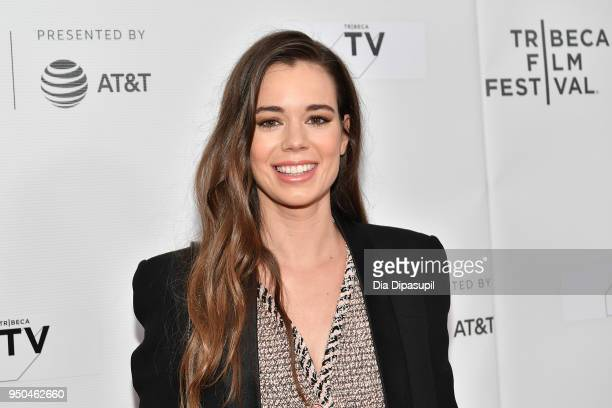 Laia Costa attends the screening of Maine during the 2018 Tribeca Film Festival at Cinepolis Chelsea on April 23 2018 in New York City