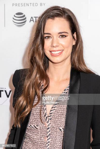 Laia Costa attends the screening of 'Maine' during the 2018 Tribeca Film Festival at Cinepolis Chelsea Manhattan