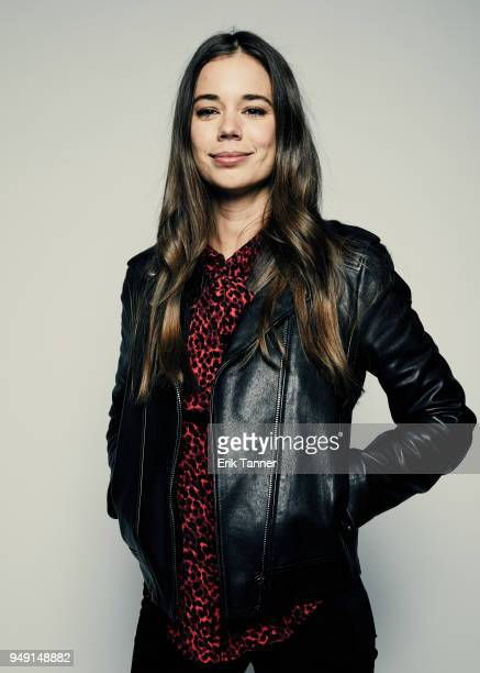 Laia Costa of the film Duck Butter poses for a portrait during the 2018 Tribeca Film Festival at Spring Studio on April 20, 2018 in New York City.