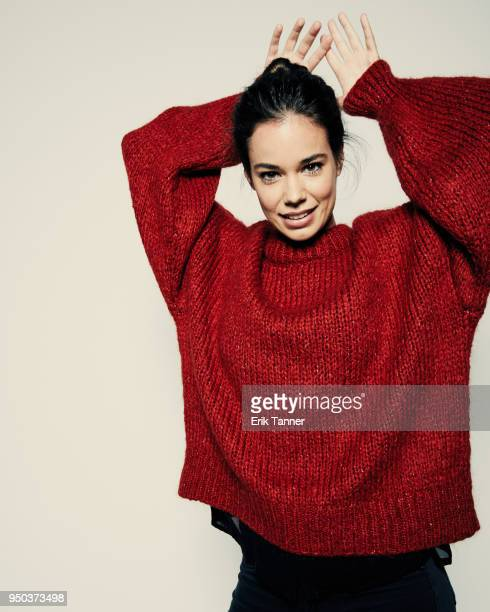 Laia Costa of the film Maine poses for a portrait during the 2018 Tribeca Film Festival at Spring Studio on April 23, 2018 in New York City.