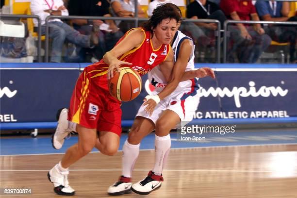 Laia PALAU France / Espagne Championnat d'Europe de Basket Ball 2007