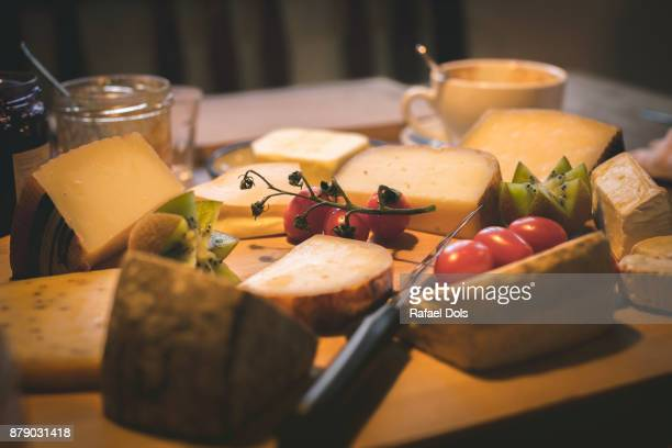 Laid breakfast table, Heilbronn, Germany, Baden-Wuerttemberg