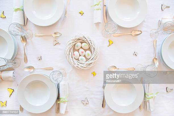Laid Easter table