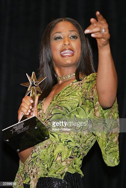 Laila Ali at the 2nd Annual BET Awards at the Kodak Theatre in Hollywood Ca Tuesday June 25 2002 Photo by Kevin Winter/ImageDirect