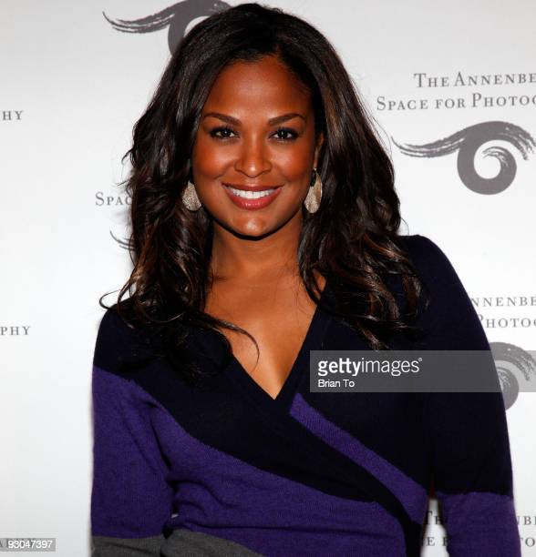Laila Ali attends 'Sport Iooss and Leifer' Exhibit Opening at The Annenberg Space For Photography on November 13 2009 in Century City California