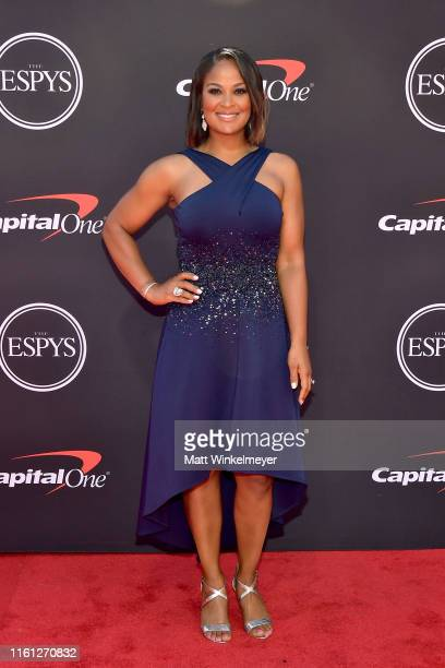 Laila Ali attends The 2019 ESPYs at Microsoft Theater on July 10 2019 in Los Angeles California