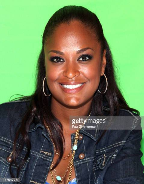 Laila Ali attends the Aquaphor Diaper Derby at the Hilton New York on July 6 2012 in New York City