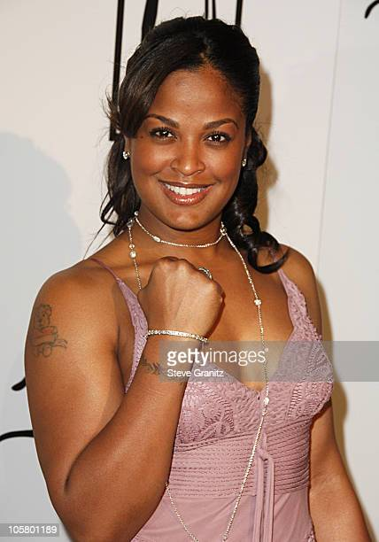 Laila Ali during 1st Annual The Billies Awards Arrivals at Beverly Hilton Hotel in Westwood California United States