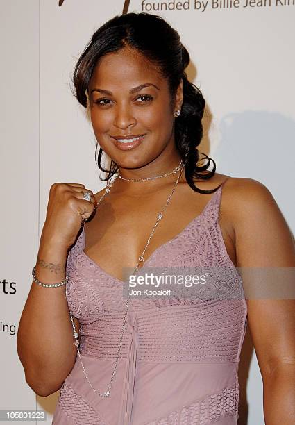 Laila Ali during 1st Annual The Billies Awards Arrivals at Beverly Hilton Hotel in Beverly Hills California United States