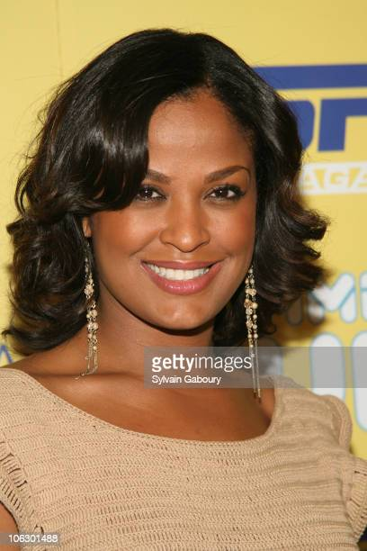 Laila Ali during ESPN Magazine Summer Fun Party Arrivals at Pier 59 at Chelsea Piers in New York City New York United States