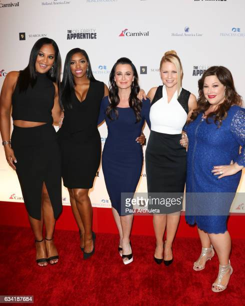 Laila Ali Porsha Williams Kyle Richards Carrie Keagan and Carnie Wilson attends the red carpet event for NBC's 'Celebrity Apprentice' at Westin...