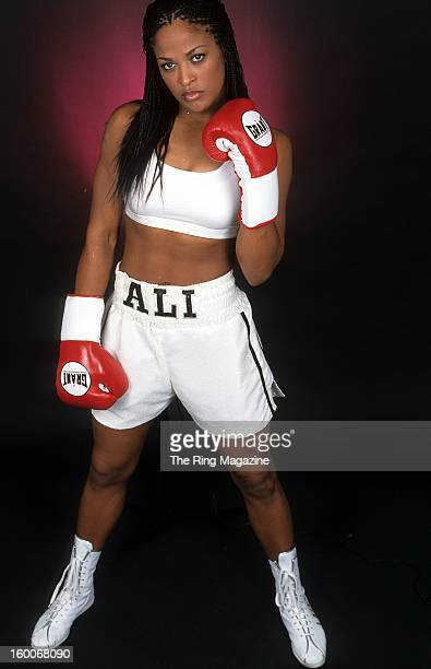 Laila Ali poses for a portrait on August 242001 in New York
