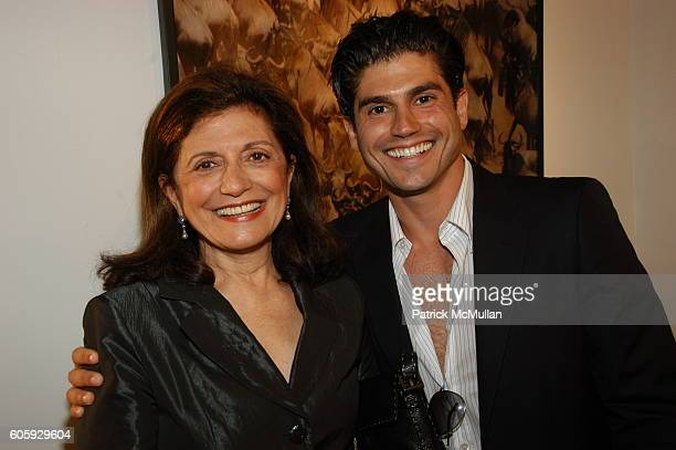 Laila Levitas and Andrew Levitas attend Opening Reception for Africana MMVI photographs by Andrew Levitas at HamiltonSelway Gallery on April 22 2006...