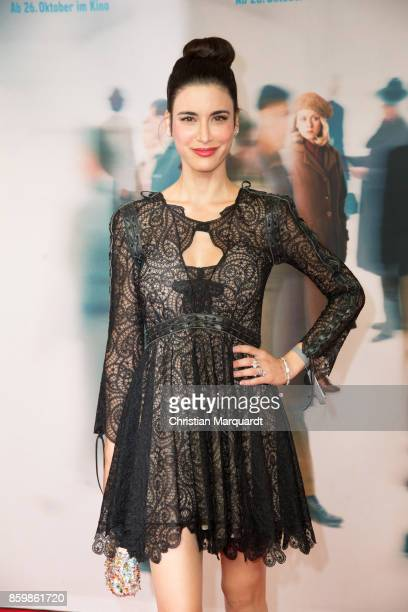 Laila Maria Witt attends the premiere of 'Die Unsichtbaren' at Kino International on October 10 2017 in Berlin Germany