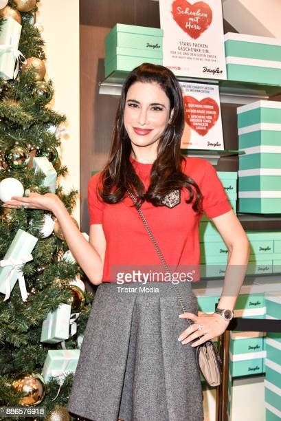 Laila Maria Witt during the X-Mas Charity Campaign 'Schenken mit Herz' on December 5, 2017 in Berlin, Germany.