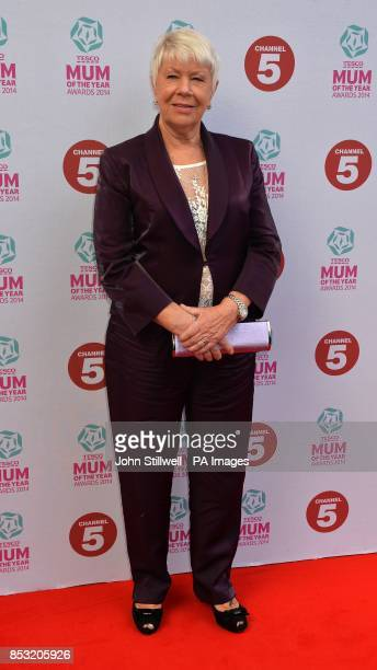 Laila Morse arriving at the Tesco Mum of the Year Awards celebrating Britain's most inspirational mothers at The Savoy Hotel Strand in central London
