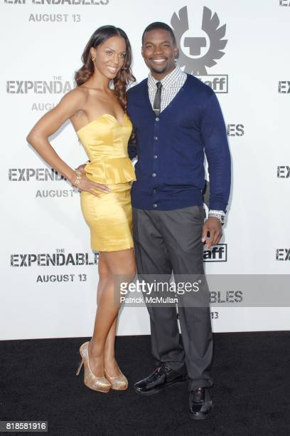 Laila Odom and Amin Joseph attend Exclusive World Sneak Screening of THE EXPENDABLES at Grauman's Chinese Theatre on August 3 2010 in Hollywood CA