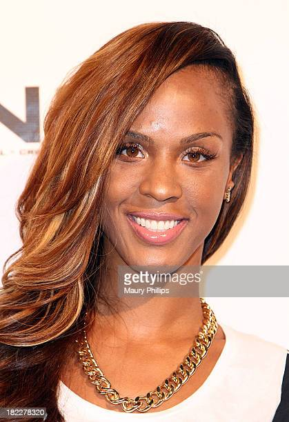 Laila Odom arrives at the 10th Annual Celebrity Bowling Challenge hosted by KiKi Shepard at PINZ Entertainment Center on September 28 2013 in Studio...