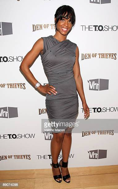 Laila Odom arrives at the VH 1's Premiere Party for The TO Show on July 16 2009 in West Hollywood California