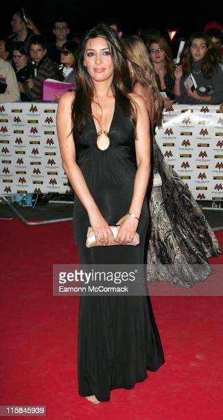 Laila Rouass during MOBO Awards 2006 Outside Arrivals in London Great Britain