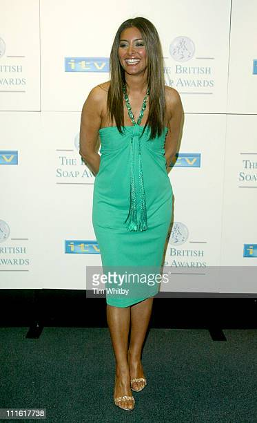 Laila Rouass During The  British Soap Awards Press Room At Bbc Television Centre In London