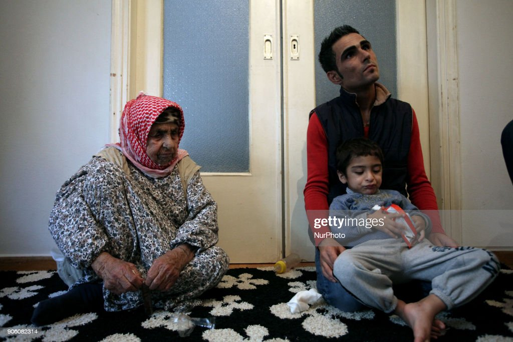 Laila Saleh, 110 years old refugee in Athens
