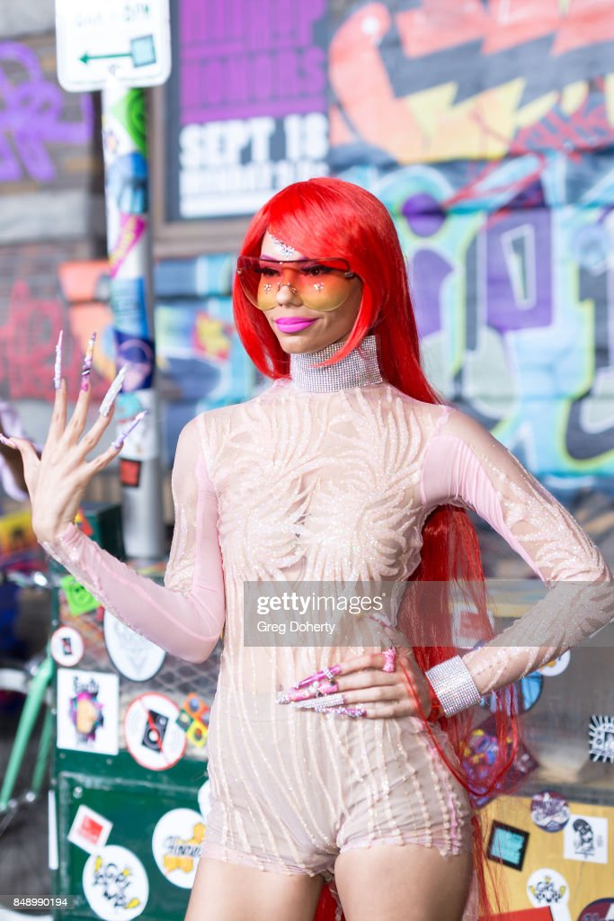 Laila V arrives for VH1's Hip Hop Honors: The 90's Game Changers at Paramount Studios on September 17, 2017 in Hollywood, California.