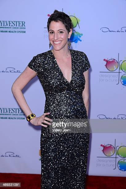 Lainey Tobin Keiffer attends Designed For A Cure 2014 Benefiting Sylvester Comprehensive Cancer Center at Ice Palace on February 13 2014 in Miami...