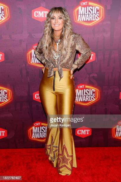 Lainey Wilson attends the 2021 CMT Music Awards at Bridgestone Arena on June 09, 2021 in Nashville, Tennessee.