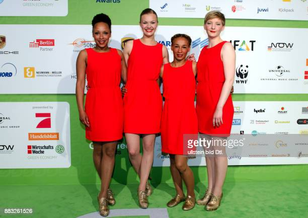 Laing auf den GreenTec Awards 2015 im Velodrom Berlin am