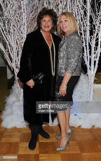 Lainie Kazan and Nancee Borgnine attend The Borgnine Movie Star Gala at Sportsmen's Lodge Event Center on February 23 2013 in Studio City California