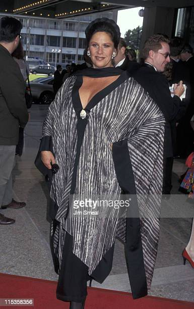 Lainie Kazan during Los Angeles Opening Night of Ragtime June 15 1977 at Shubert Theater in Los Angeles California United States