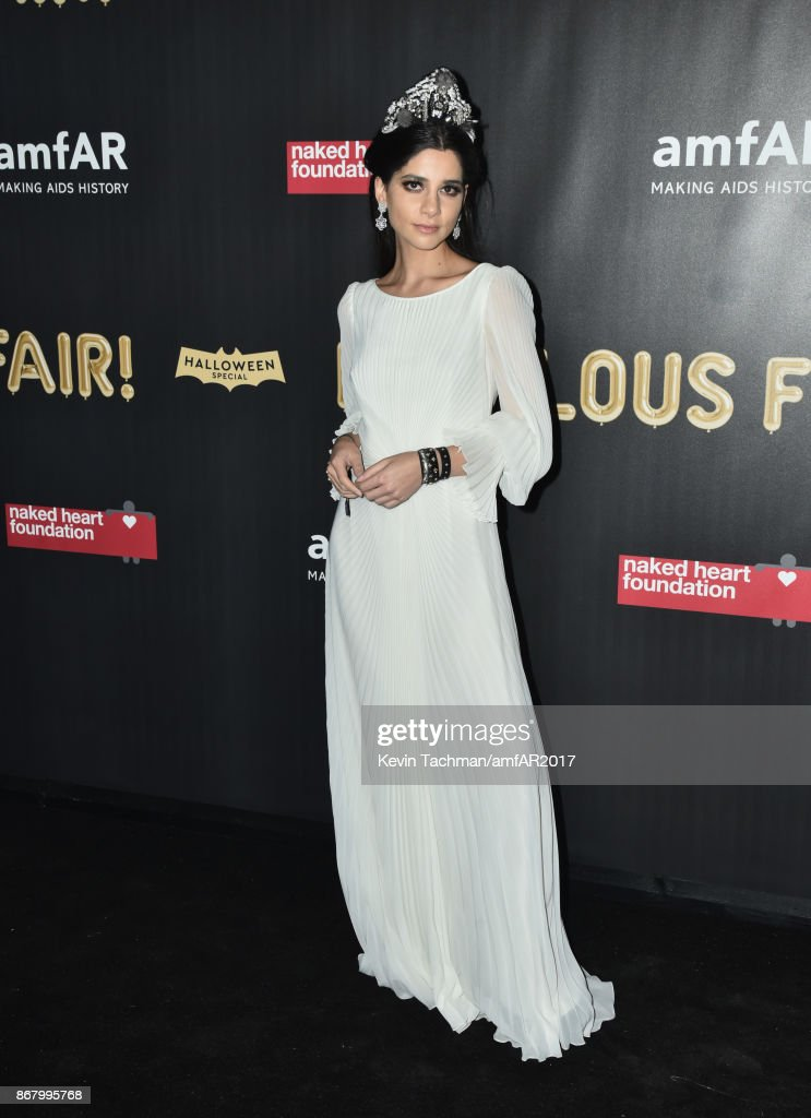 Lainy Hedaya at the 2017 amfAR & The Naked Heart Foundation Fabulous Fund Fair at the Skylight Clarkson Sq on October 28, 2017 in New York City.