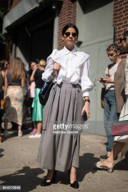 Lainy Hedaya is seen attending Creatures of Comfort during New York Fashion Week wearing Creatures of Comfort, Chanel, Louboutin on September 7, 2017...